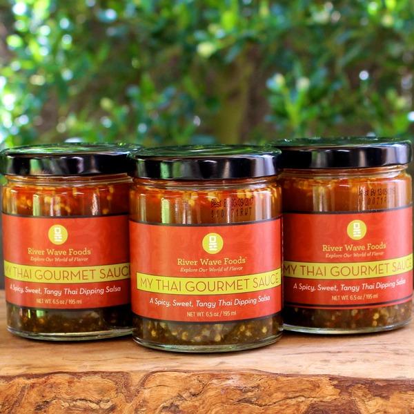 Combo #1 Trifecta of Thai Flavor 3 jars of My Thai Gourmet Sauce