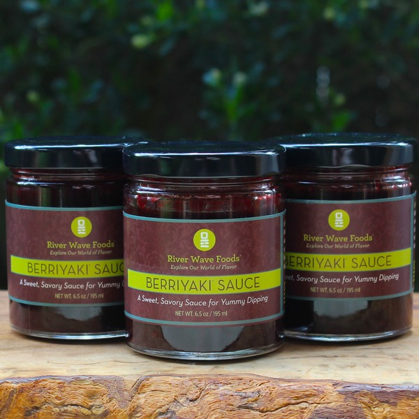 Combo #2 A Berry, Berry Delicious Sauce - Berriyaki Sauce bundle of 3 jars