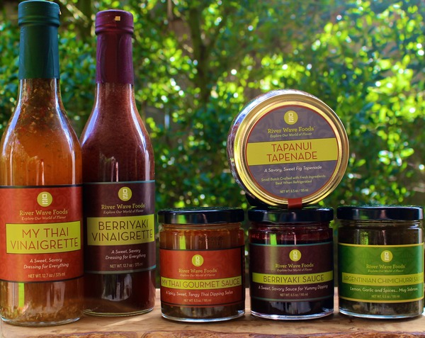 Combo # 8 A Culinary Passport to World Flavors - all 6 River Wave Foods Products